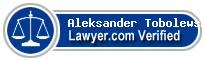 Aleksander Tobolewski  Lawyer Badge
