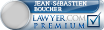 Jean-Sébastien Boucher  Lawyer Badge