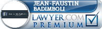 Jean-Faustin Badimboli  Lawyer Badge