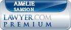 Amélie Samson  Lawyer Badge