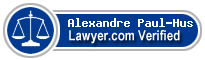 Alexandre Paul-Hus  Lawyer Badge