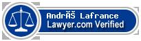 André Lafrance  Lawyer Badge