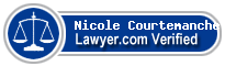 Nicole Courtemanche  Lawyer Badge