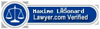 Maxime Olivier Léonard  Lawyer Badge