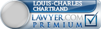 Louis-Charles Chartrand  Lawyer Badge