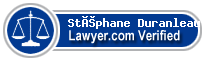 Stéphane Duranleau  Lawyer Badge
