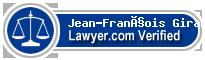 Jean-François Girard  Lawyer Badge