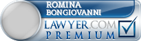 Romina Bongiovanni  Lawyer Badge