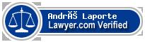 André Laporte  Lawyer Badge