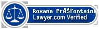 Roxane Préfontaine  Lawyer Badge