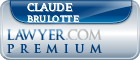 Claude Brulotte  Lawyer Badge