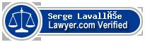Serge Lavallée  Lawyer Badge
