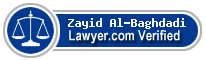Zayid Al-Baghdadi  Lawyer Badge