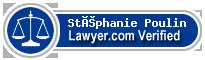Stéphanie Poulin  Lawyer Badge