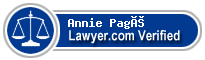 Annie Pagé  Lawyer Badge