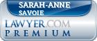 Sarah-Anne Savoie  Lawyer Badge