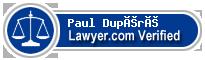 Paul Dupéré  Lawyer Badge