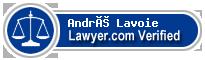 André Lavoie  Lawyer Badge