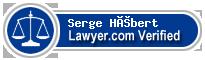 Serge Hébert  Lawyer Badge