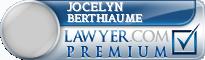 Jocelyn Berthiaume  Lawyer Badge
