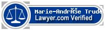Marie-Andrée Trudeau  Lawyer Badge