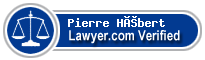 Pierre G. Hébert  Lawyer Badge