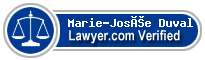 Marie-Josée Duval  Lawyer Badge