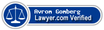 Avrom A. Gomberg  Lawyer Badge