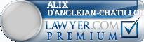 Alix D'Anglejan-Chatillon  Lawyer Badge