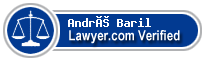 André Baril  Lawyer Badge