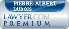 Pierre-Albert Dubois  Lawyer Badge
