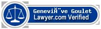 Geneviève Goulet  Lawyer Badge