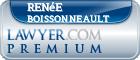 Renée Boissonneault  Lawyer Badge