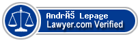 André Lepage  Lawyer Badge