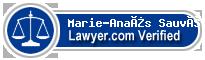 Marie-Anaïs Sauvé  Lawyer Badge