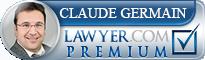 Claude Germain  Lawyer Badge