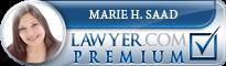 Marie-Hélène Saad  Lawyer Badge