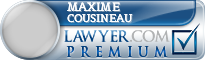 Maxime Cousineau  Lawyer Badge