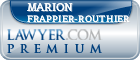 Marion Frappier-Routhier  Lawyer Badge