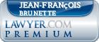 Jean-François Brunette  Lawyer Badge