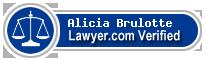Alicia Brulotte  Lawyer Badge