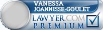 Vanessa Joannisse-Goulet  Lawyer Badge
