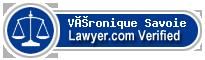 Véronique Savoie  Lawyer Badge
