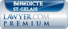 Bénédicte St-Gelais  Lawyer Badge