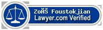 Zoé Foustokjian  Lawyer Badge