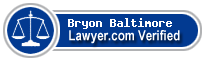 Bryon D. Baltimore  Lawyer Badge