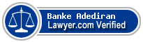 Banke E. Adediran  Lawyer Badge