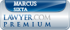 Marcus M. Sixta  Lawyer Badge
