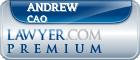 Andrew Cao  Lawyer Badge