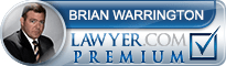 Brian P. Warrington  Lawyer Badge
